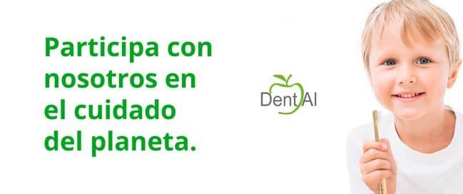 Campaña Dent Al Cepillos de plástico
