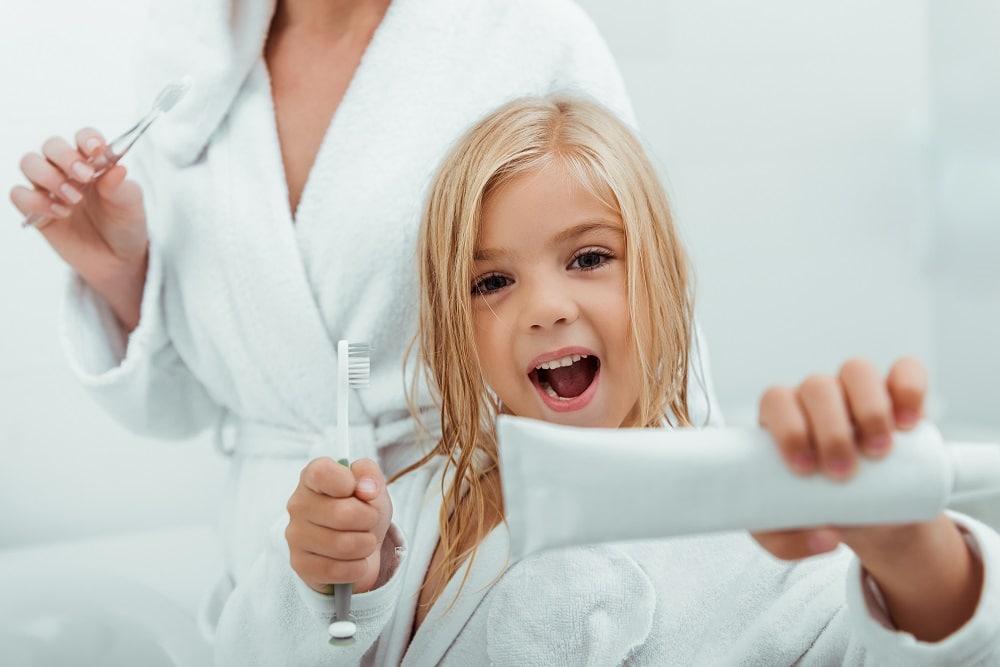 Ventajas del flúor en niños